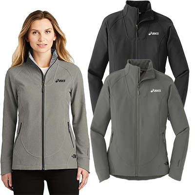 the north face ladies tech stretch soft shell jacket
