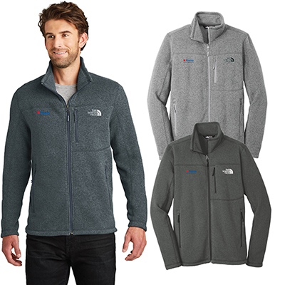 the north face®sweater fleece jacket
