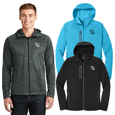 3448a661f56e Promotional North Face Canyon Flats Fleece Hooded Jacket  A great corporate  gift for employees and valued clients