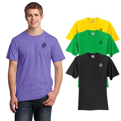fruit of the loom® hd cotton™ 100% cotton t-shirt