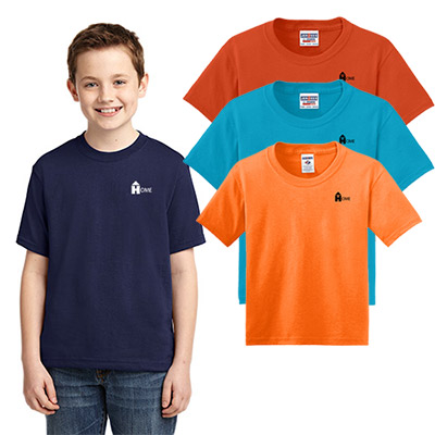 jerzees - youth dri-power active 50/50 t-shirt