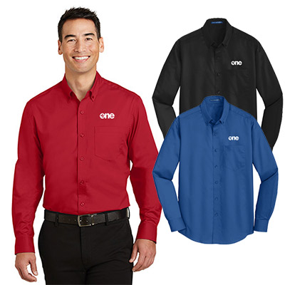 port authority® superpro™twill shirt