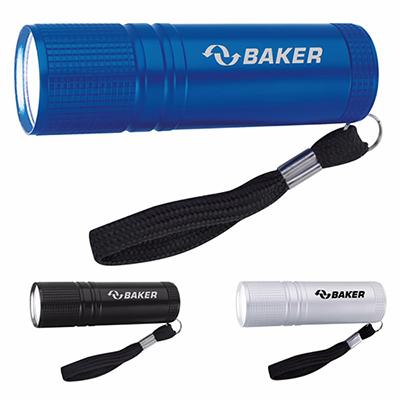 pocket aluminum cob flashlight