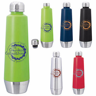 20 oz. swan vacuum stainless steel bottle