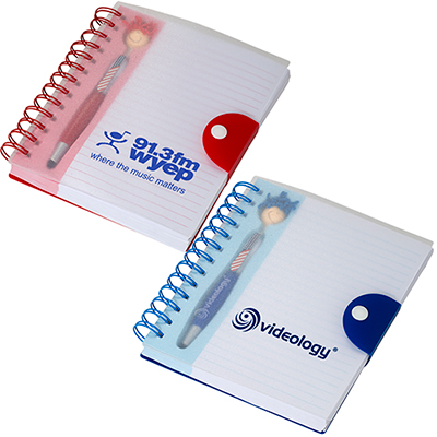 patriotic moptopper™ pen & notebook set