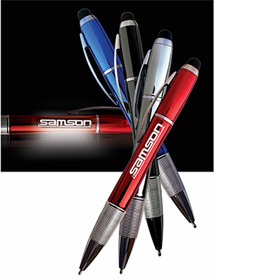 brite star lighted logo pen