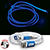 3 in 1 El Lighted Charging Cable blue 27477