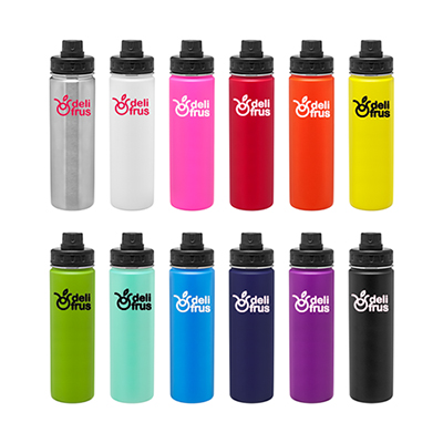 24 oz. h2go quest vacuum stainless steel bottle