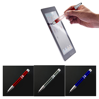 8-in-1 lighted logo pen