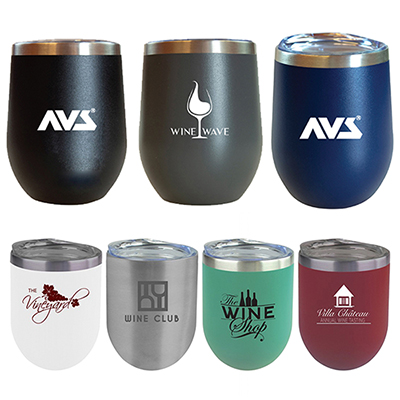 12 oz. sipper wine tumbler