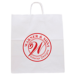 27629 - White Knight Paper Bag