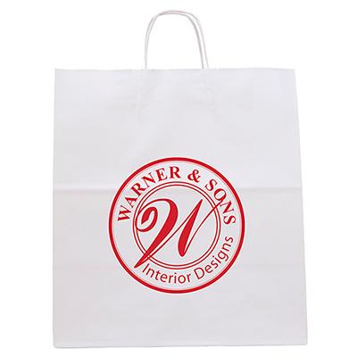 white knight paper bag