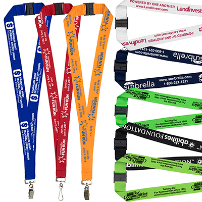 "1"" lanyard with breakaway safety release"