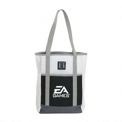 sports mesh tote
