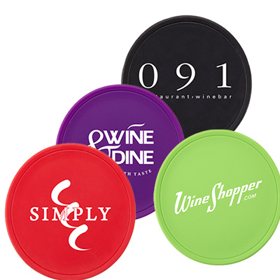 silicone wine glass cover