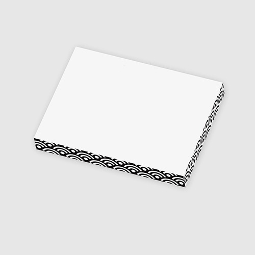 3 x 4 x 1/2 post-it® rectangle notes cube (100 sheets)