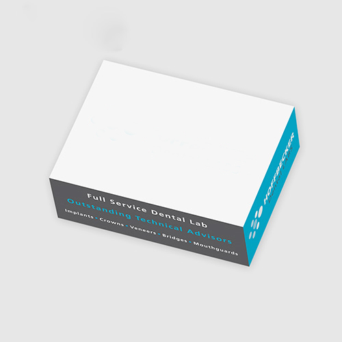 3 x 4 x 1 3/8 post-it® rectangle notes cube - 345 sheets (two colors)