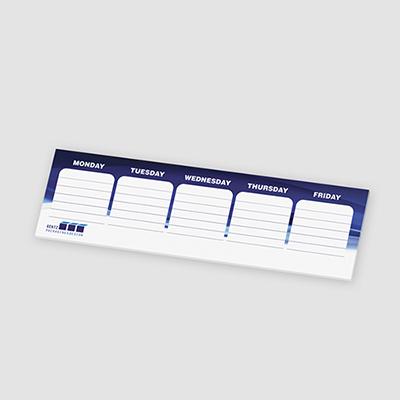 post-it® custom printed organizational notes -25 sheets