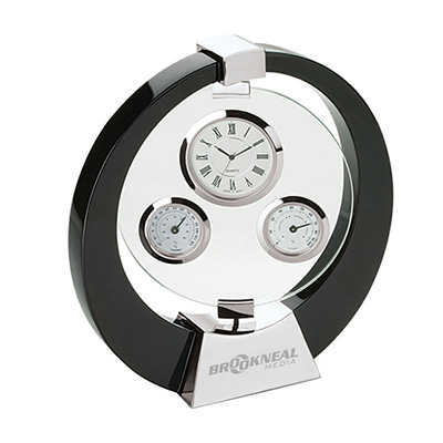 tortola desk clock / weather station
