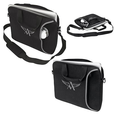 mombasa laptop case with shoulder strap