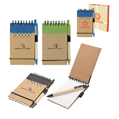 chou mini jotter & pen