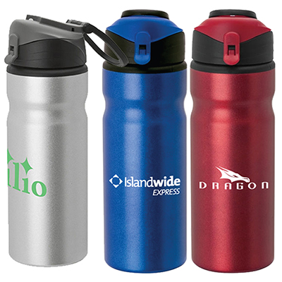 24 oz. quest aluminum water bottle