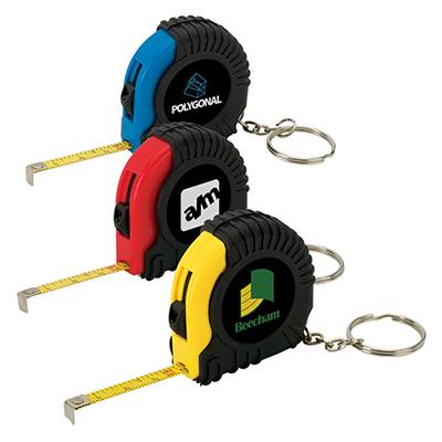 gosto mini tape measure keyring