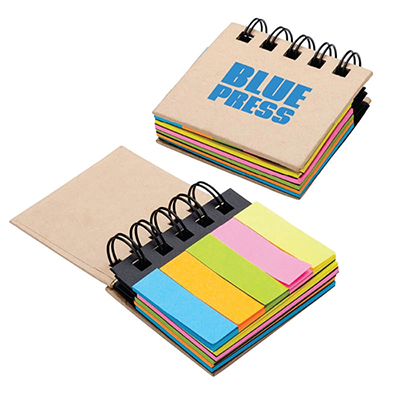 regency sticky notes & flags notebook