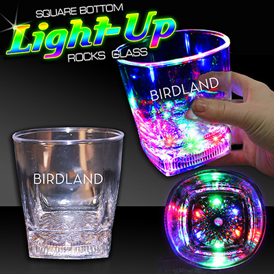 10 oz led rocks glass