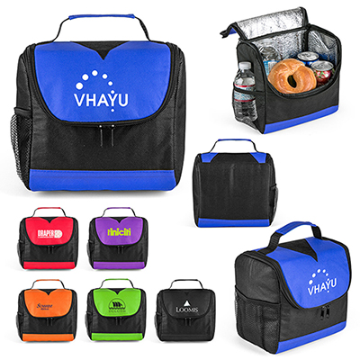 center divider lunch bag