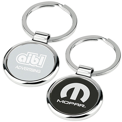 round-about key tag