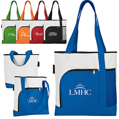color bright large tote