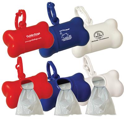 pet wast bag dispenser- bone shape