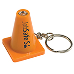 28543 - Light Up Safety Cone Keytag