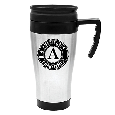 14 oz. steel city travel mug