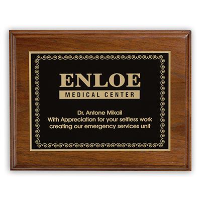 ashford small plaque award