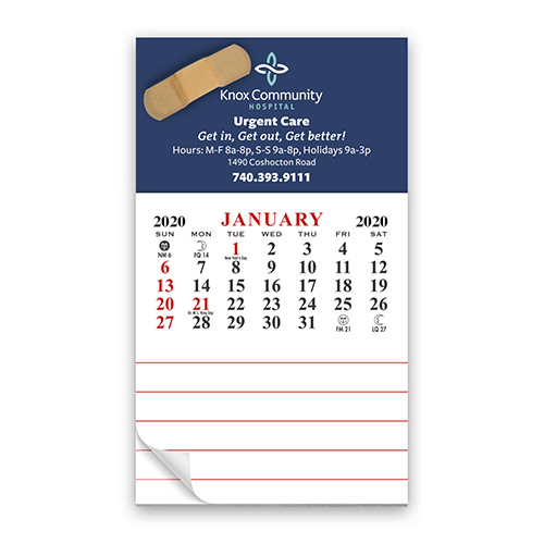Add-A-Pad Magnetic 12 Month Calendar