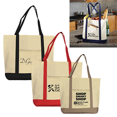 canvas boat tote