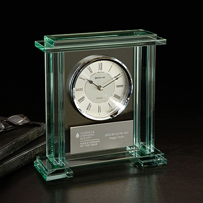 caspian desk clock