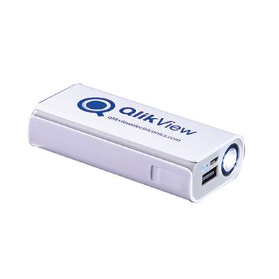 flashlight power bank 4000