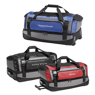 velocity rolling duffel