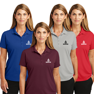 cornerstone® ladies select lightweight snag-proof polo