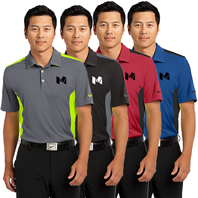 nike golf - dri-fit engineered mesh polo