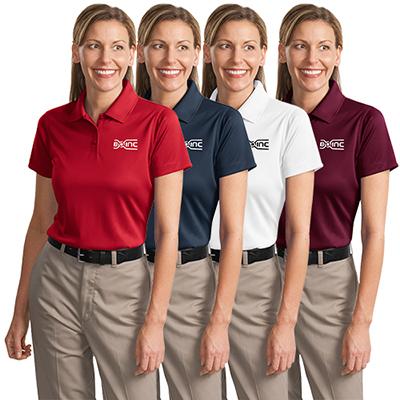 cornerstone® ladies select snag-proof polo