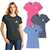 District Made Ladies Perfect Tri Crew Tee Gallery 28900