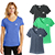 District Made Ladies Perfect Tri V Neck Tee Gallery 28901