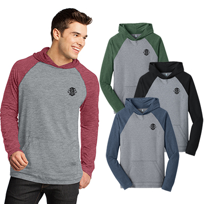 district® - young mens 50/50 raglan hoodie