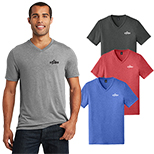 28919 - District Made® Mens Perfect Tri® V-Neck Tee (Color)