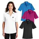 28972 - Port Authority® Ladies Silk Touch™ Interlock Polo