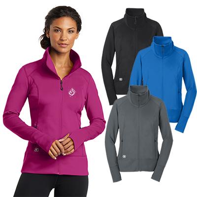 ogio®endurance ladies fulcrum full-zip jacket